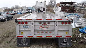 FLAT BED TRAILER 48×102