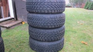 215/65R16 studded winter tires on rims St. John's Newfoundland image 1