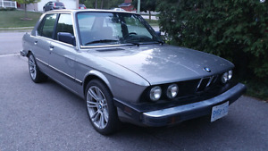 BMW E28 For Sale - Amazing Condition