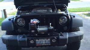 Jeep winch mount and bumper Cambridge Kitchener Area image 1