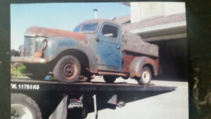 1947 International Harvester KB.1 Pick-Up // Ready to Rebuild