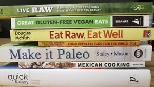 7 cookbooks for sale as a bundle