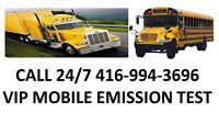 MOBILE EMISSION TEST FOR TRUCK AND BUS CUBVAN