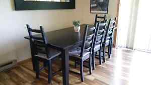 Ikea Dining Table Set with Chairs and Bench