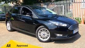 2017 Ford Focus 1.0 EcoBoost Zetec Edition 5dr Manual Petrol Hatchback