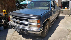 94 Chev 4x4 diesel shortbox extended cab