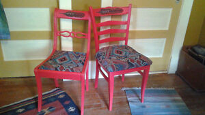 Twin Redhawk Chairs