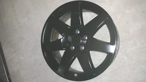 18inch 5x115 5x114.3 Black alloy rims