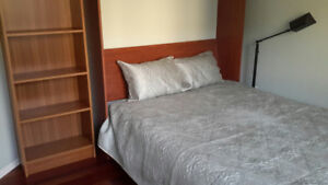 Female roommate wanted, available furnished bdrm, bath, office