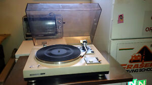 Kenwood KD2055 Turntable with New Cartridge