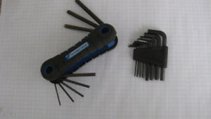 Benchmark and 8 Piece Hex Tool Sets
