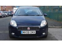 2008 Fiat Grande Punto FINANCE AVAILABLE WITH NO DEPOSIT NEEDED