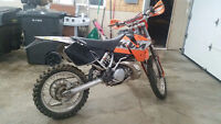 KTM 300 2 stroke Trade for 700 raptor or 350 banshee no junk ple