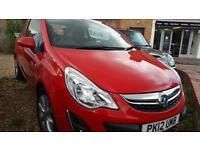 2012 Vauxhall/Opel Corsa 1.2i Active stunning new mot