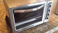 Stainless Steel Kitchen Aid Countertop Toaster Oven