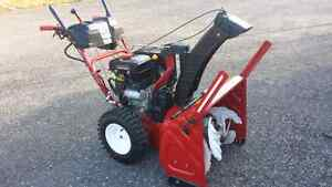 Troy-Bilt 3 stage vortex snowblower
