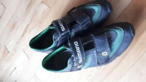 Shimano cycling shoes-size 9