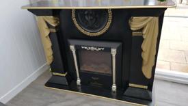 Italian versace fireplace furniture