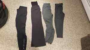 4 pairs of maternity leggings