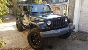 Jeep wrangler rubicon sahara