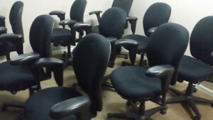 Nice Adjustable Office and Den Chairs  - In Nice Condition