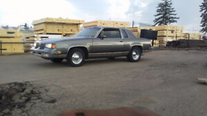 2 cutlass's for sale, reduced price askin $4500 or trade/trailer