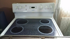 "30"" Glass Top Moffat Stove"