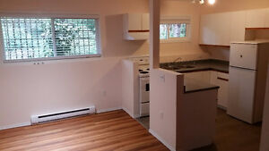 Beautiful 2BR suite, newly renovated, top of hill in Cordova Bay
