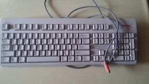 Compaq PS/2 Keyboard - Ivory