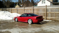 CLEAN Nissan 240sx (s13) hatchback - for interesting trades