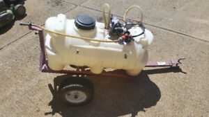 25 Gallon tow-behind sprayer
