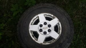 Chevrolet Rims and tires