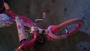 Girls 16 inch you and me bike from toys r us