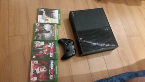 Xbox1 500gb with games rush 200$ no less
