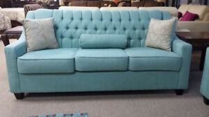 Customize Your Own Elegant Tufted Sofa ~CHOSE ANY COLOR + FABRIC