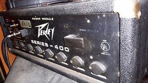 Vintage USA Tete Peavey musician 400 series