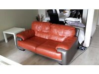 3 piece and 2 piece leather sofa armchair