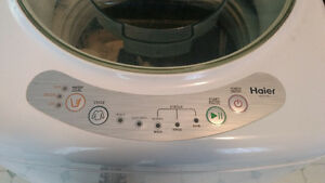 Haier portable washing machine 150 obo