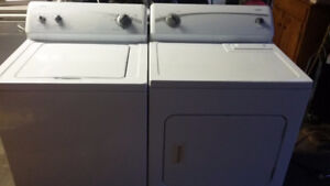 Kenmore  400 series washer and dryer pair can deliver