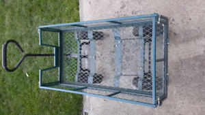 Yardworks Garden Mesh Cart (Load capacity: 800 lb, or 362.9 kg)