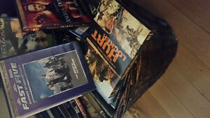 assorted.dvds ,blue rays excellent condition