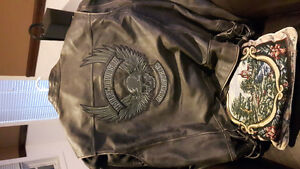Harley Davidson Willie G leather bike jacket