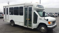 Ford E450 Diesel Buses for Sale