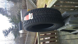 4 new snow tires, rims, sensors, and hubcaps St. John's Newfoundland image 1