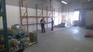 Warehouse Racking Blow Out