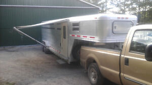1997 24ft. Featherlite Stock Trailer with living quarters
