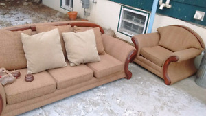 Couches, Loveseats & Side table