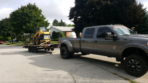Trucking Service -- Moving -- Trailer Towing -- Fifth Wheel