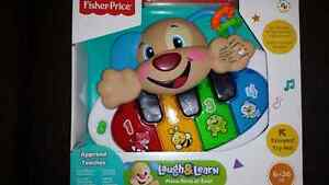 Fisher Price Puppy's Piano --- piano rires et Eveil