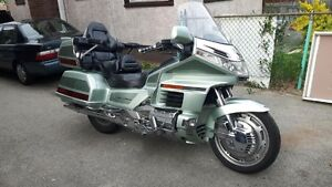 Silver Honda 1999 Goldwing